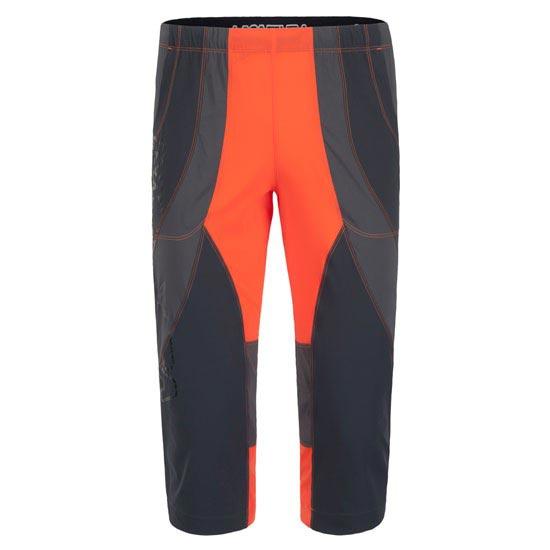 Montura Free Synt Rock 3/4 Pants - Naranja/Negro