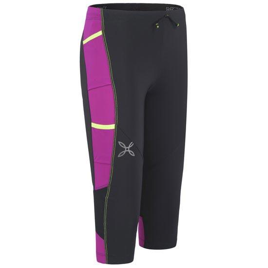 Montura Activity 3/4 Pants W - Negro/Fucsia
