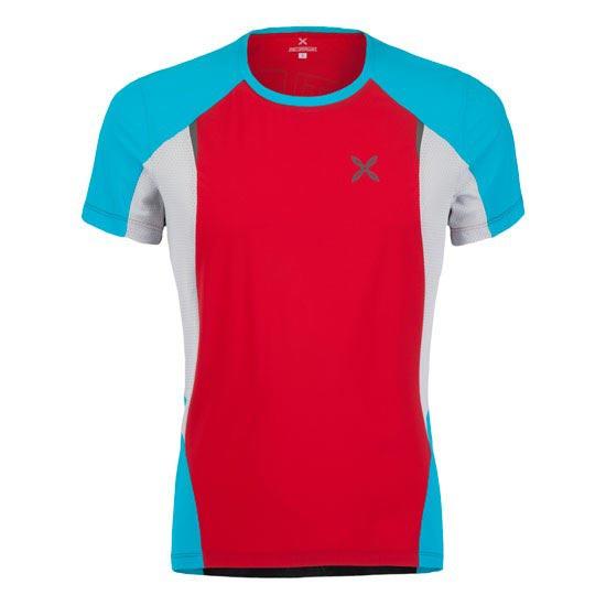Montura Run Fast T-Shirt - Rosso/Acqua