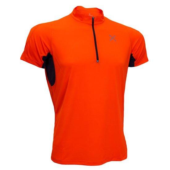Montura Outdoor World Zip 2 T-Shirt - Naranja