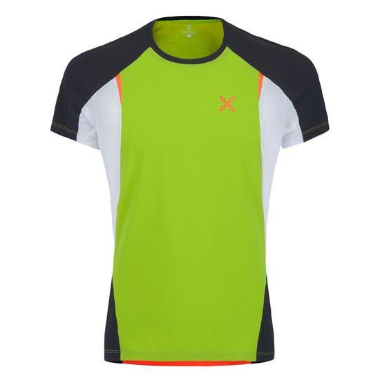 Montura Run Fast T-Shirt - Verde/Negro