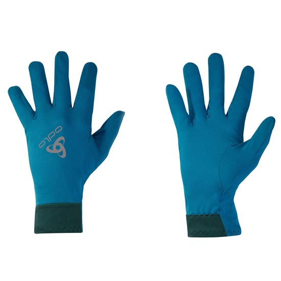 Odlo Allround Liner Light Gloves - Seaport