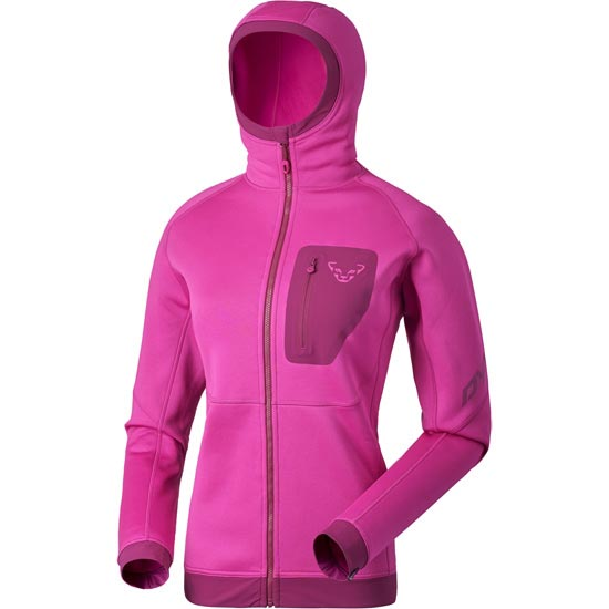 Dynafit Thermal Layer 4 PTC Hoody W - Fuchsia