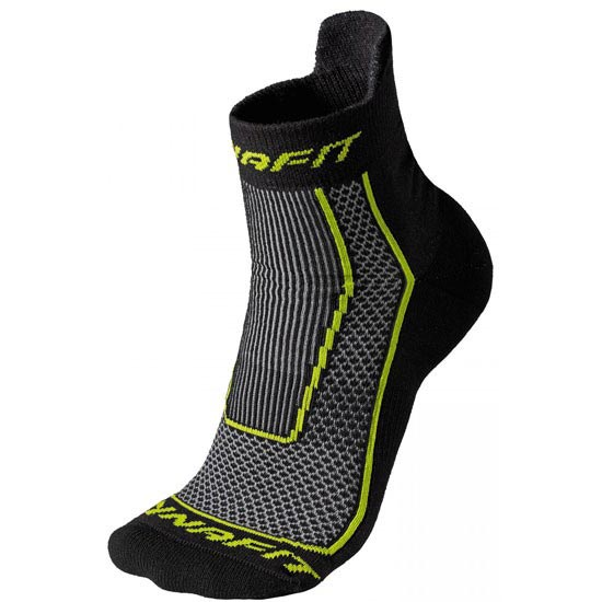 Dynafit Performance Short Sock - Black/Cactus