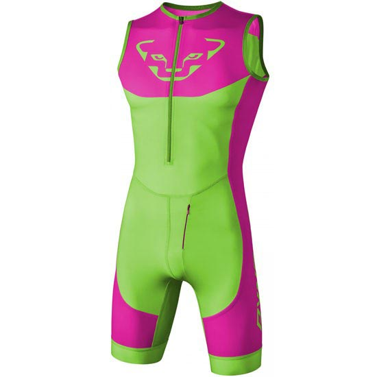 Dynafit Vertical U Racing Suit - Magenta/Green