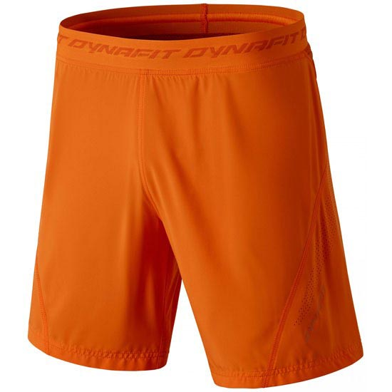 Dynafit React 2 Dynastretch Shorts - Carrot