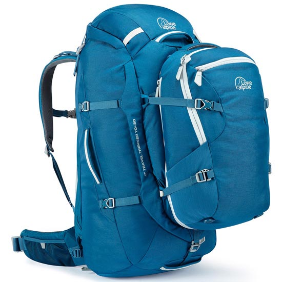 Lowe Alpine At Travel Trekker 70+30 - Atlantic Blue