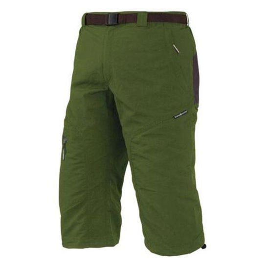 Trangoworld Brood Pant 3/4 - Green/Brown