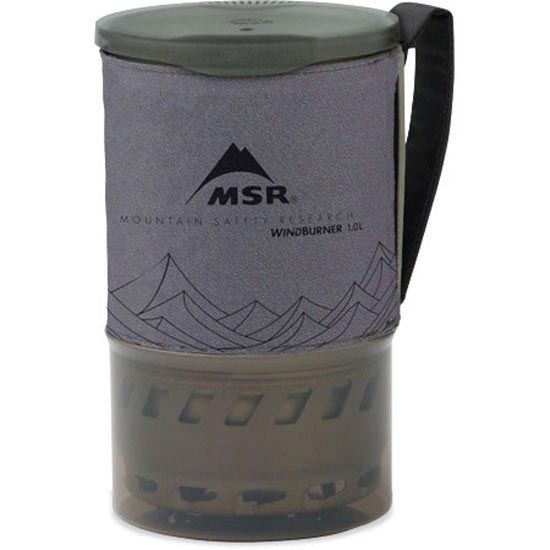 Msr Accesory Pot Windburner 1L - Grey