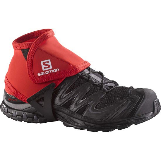 Salomon Trail Gaiters Low - Bright Red