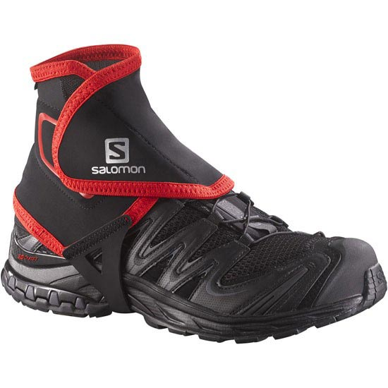 Salomon Trail Gaiters High - Noir
