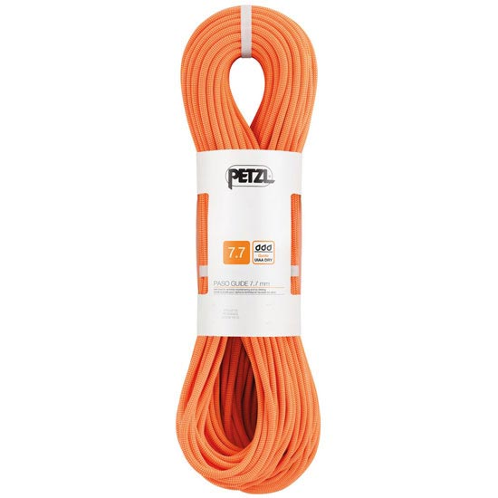 Petzl Paso Guide 7.7 mm x 50 m - Naranja