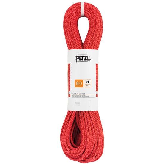 Petzl Rumba 8,0 mm x 60 m - Rojo