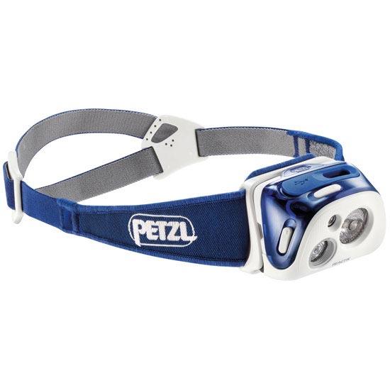 Petzl Reactik 220 lúmenes - Bleu