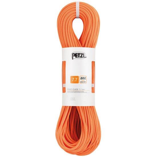 Petzl Paso Guide 7,7 mm x 70 m - Naranja