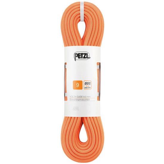 Petzl Volta Guide 9 mm x 50 m - Naranja