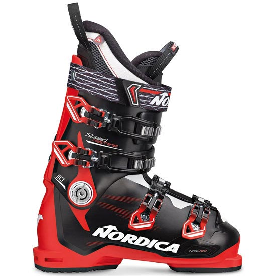 Nordica Speedmachine 110 Thermoformable - Rojo/Negro