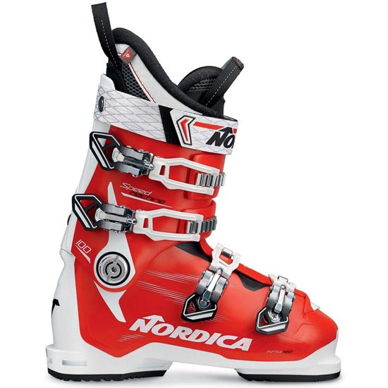 Nordica Speedmachine 100 Thermoformable - White/Red/Black