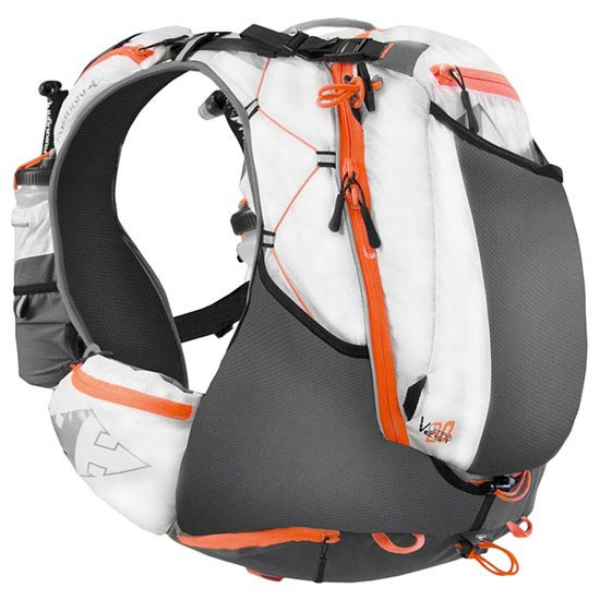 Raidlight Ultra Olmo Vest 20 L - White / Orange
