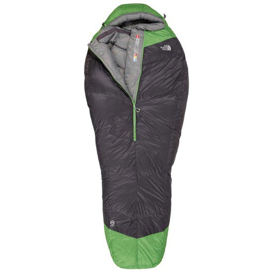 The North Face Inferno 0F/-18C - Asphalt Grey / Glo Green