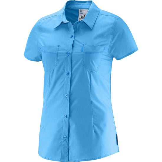 Salomon Charmed S Shirt W - Blue Line