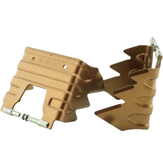 Plum Couteaux 80 mm - Gold