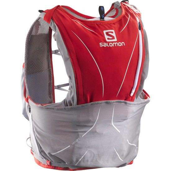 Salomon S-Lab Adv Skin3 12 Set - Racing Rouge