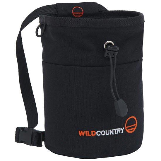 Wild Country Petit Bloc Chalk Bag - Black