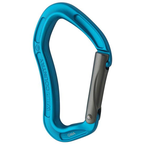 Wild Country Proton Straight Gate - Teal/Gunmetal
