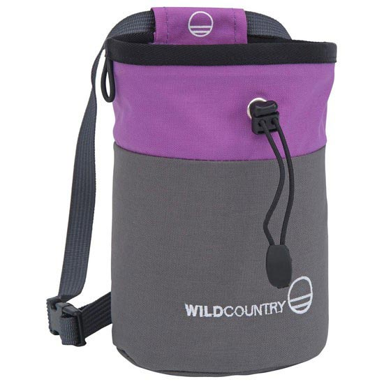 Wild Country Petit Block Chalk Bag - Purple