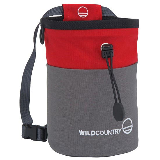 Wild Country Petit Bloc Chalk Bag - Red