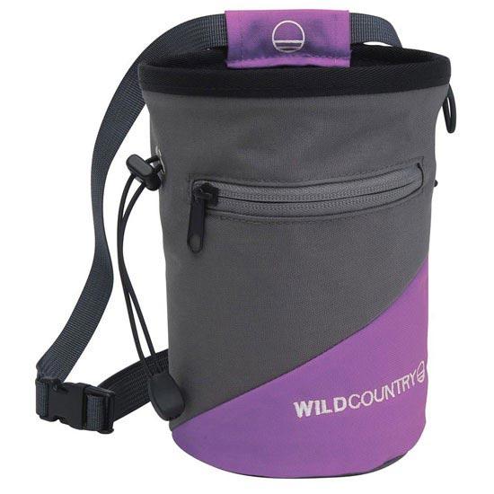 Wild Country Cargo Chalk Bag - Purple