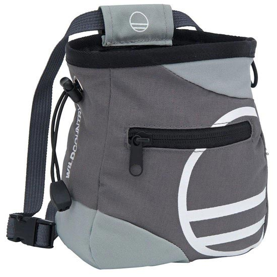 Wild Country Grand Illusion Chalk Bag - Grey