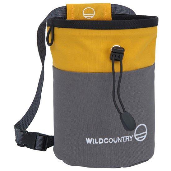 Wild Country Petit Bloc Chalk Bag - Yellow