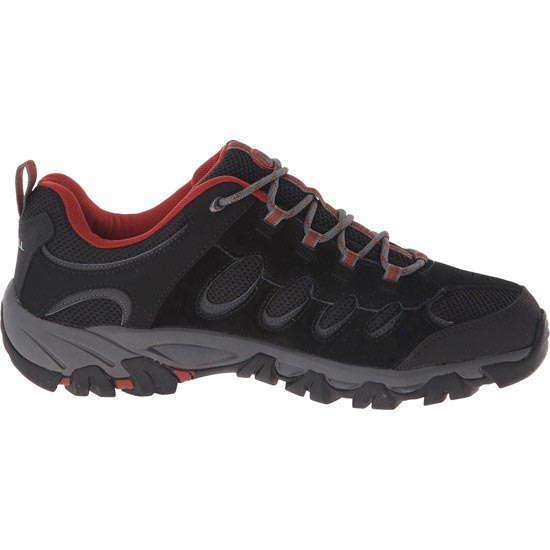 Merrell Ridgepass - Black/Red