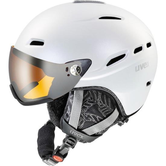 Uvex Hlmt 200 Visor - Blanco Mate