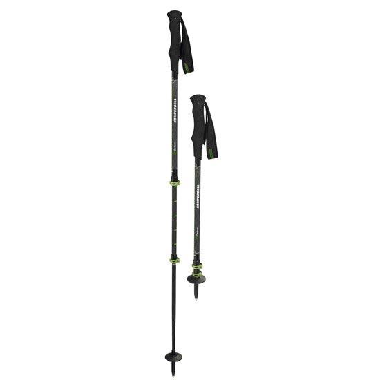 Komperdell C3 Carbon Powerlock - Negro/Verde