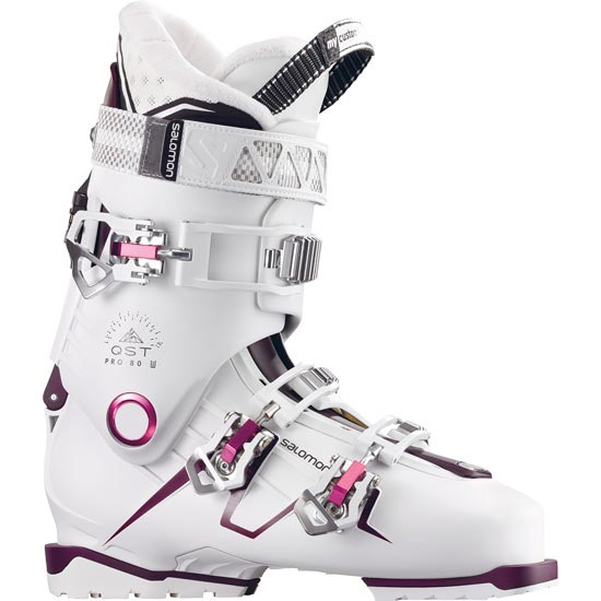 Salomon Quest Pro 80 W - White/Burgundy/Pink