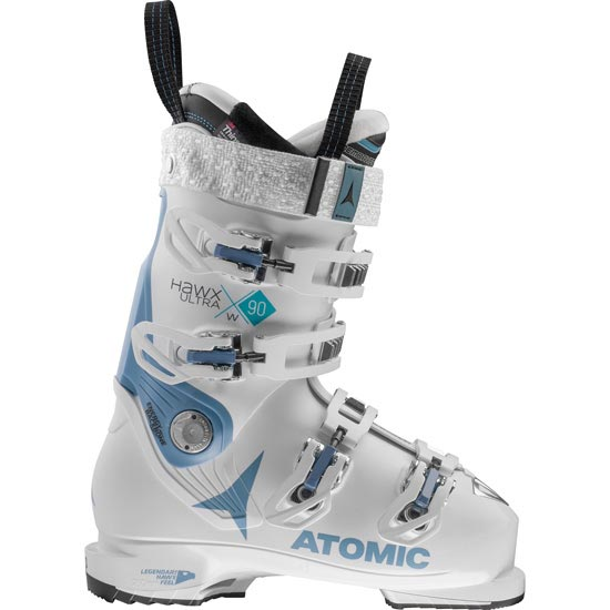 Atomic Hawx Ultra 90 W Thermoformable - White/Denim Blue