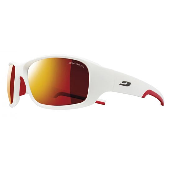 Julbo Stunt Spectron 3 CF - Matt White/Red