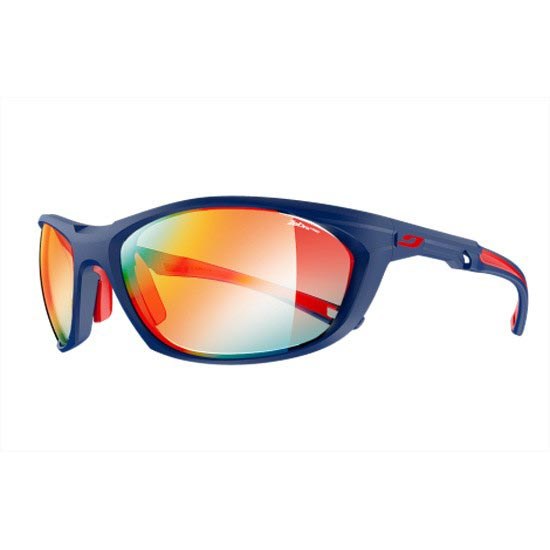 Julbo Race 2.0 Zebra Light Fire 1-3 - Matt Blue/Red