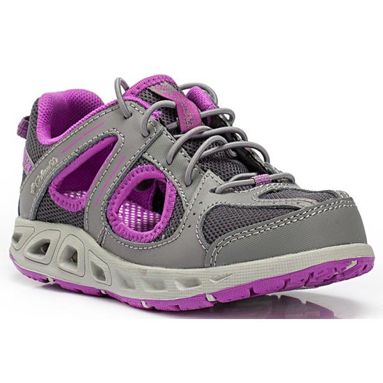 Columbia Supervent Childrens - Grey/Pink