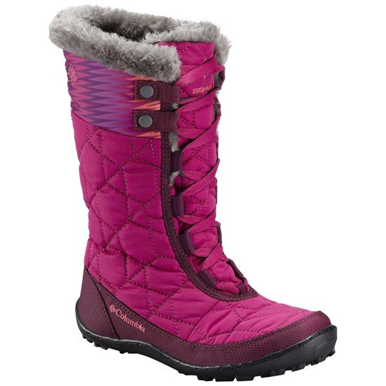 Columbia Minx Mid II Omni-Heat Waterproof - Deep Blush/ Tropic Pink