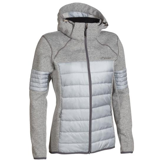 Phenix Moonlight Middle Jacket W - Grey
