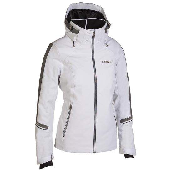 Phenix Crescent Jacket W - White