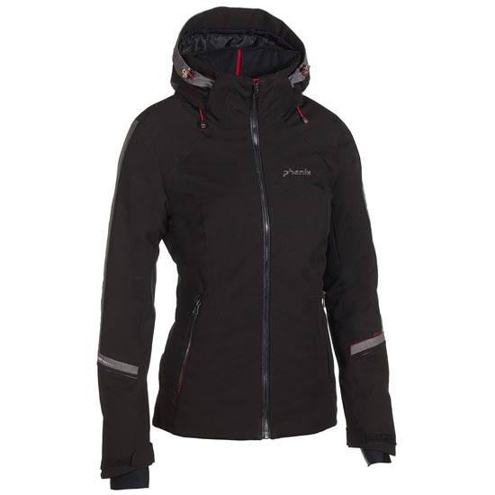 Phenix Crescent Jacket W - Black