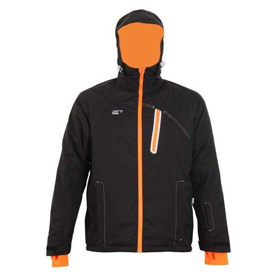 2117 Jacket Amot - Black/Orange