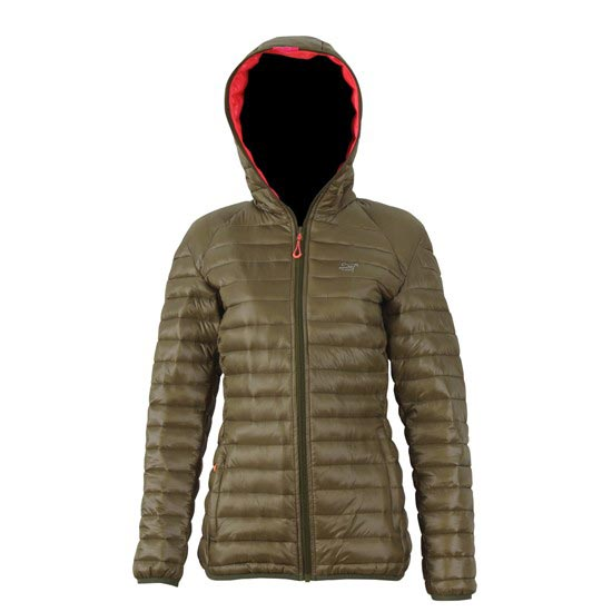 2117 Jacket Svansele W - Kongo Green/ Pink