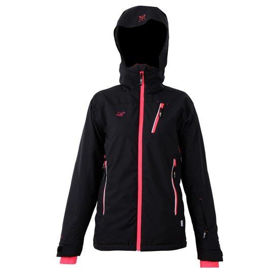 2117 Jacket Timmersdala W - Black Diva Pink