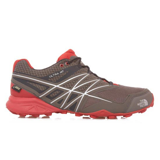 The North Face Ultra MT Gtx - Dark Gull Grey/Pompeian Red